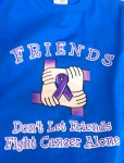 Weight Watcher Team Shirts Friend Don't Let Friends Fight Cancer Alone