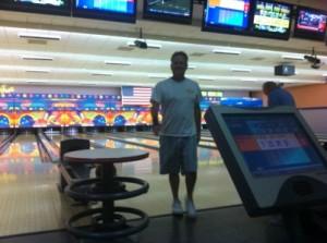 Bowling at the Riverside Casino