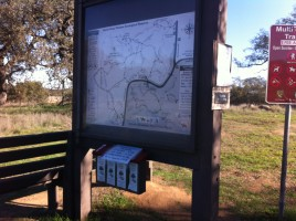 Pick up maps & pay fees at beginning of the trail.