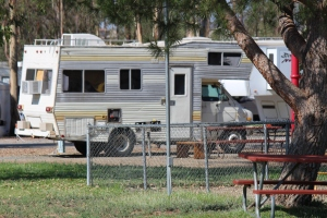 All different kinds of RV's at Wilderness Lakes Preserve