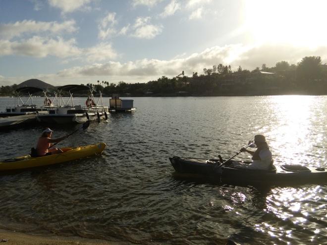Kevin & Me Kayaking