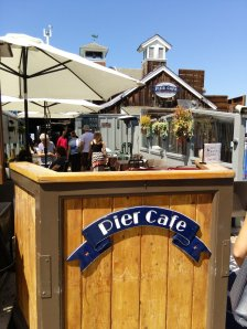 The Pier Cafe at Seaport Village.