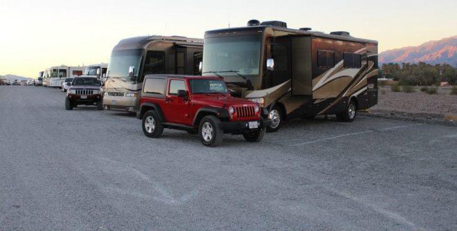 Sunset Campground near Furnace Creek