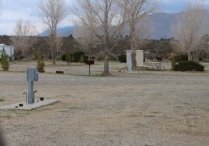 Camping site at Stagecoach Trails RV Resort