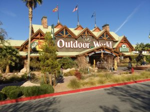 Visit the Bass Pro Shop near Silverton Casino the shop has a large aquarium, stuffed animals & plenty of outdoor gear to Ooh! and Ah! at.