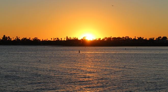 Mission Bay in San Diego, CA