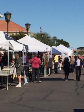 Yuma Farmers Market@Historical Downtown Yuma, AZ