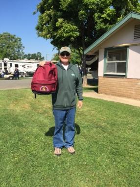 Adventure Caravans Backpack Winner