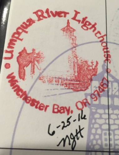 Lighthouse Passport Stamp