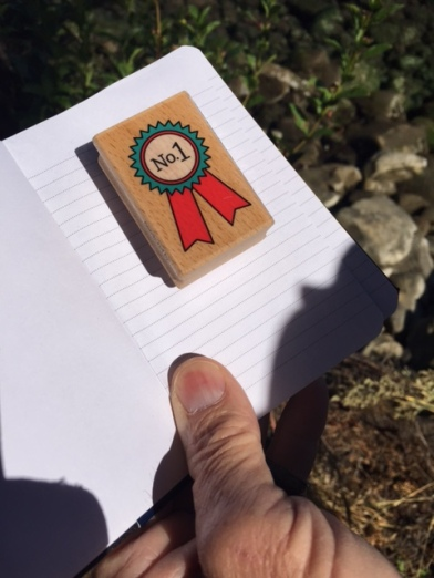 Stamp for Letterbox Geocache
