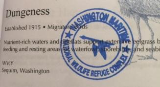 Blue Goose National Passport Stamp