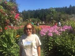 Me in Butchart Garden
