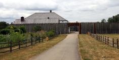 Vegetable garden & Entrance