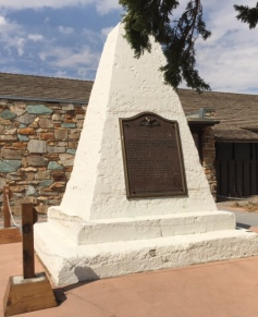 Golden Spike Site Monument