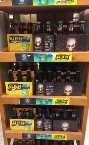 Alien Beer in Alberstons