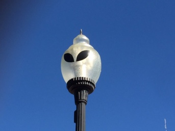 Alien Lamp Post