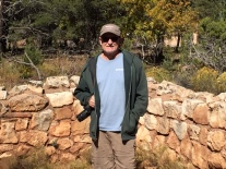 Kevin at Walnut Canyon NM