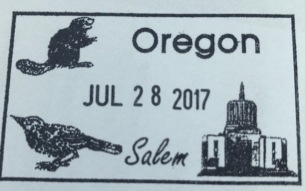 Oregon State Capital Stamp